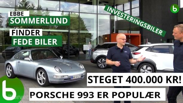 Fed bil og fed investering - Porsche 993 er steget 100 procent