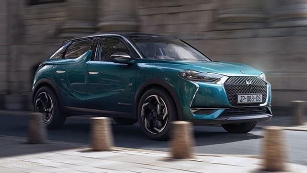 Ny kompakt luksus-SUV DS3 Crossback bliver elektrisk