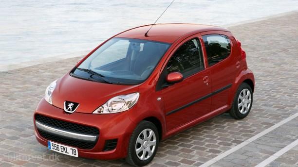 Ny Peugeot 107