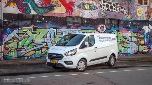Grønt håb til håndværkerne – Ford Transit Custom PHEV