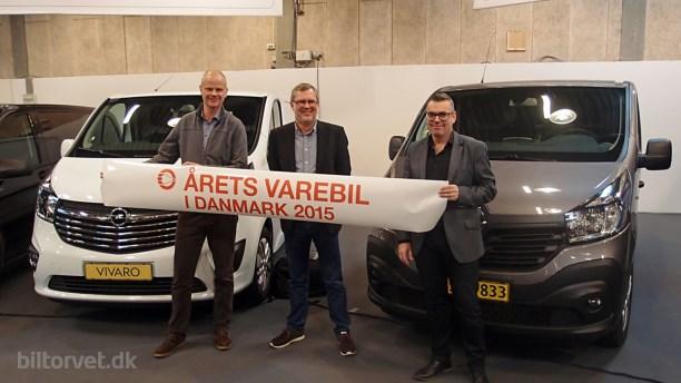 Årets Varebil i Danmark 2015