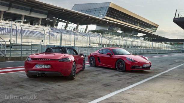 Porsche er klar med 718 GTS