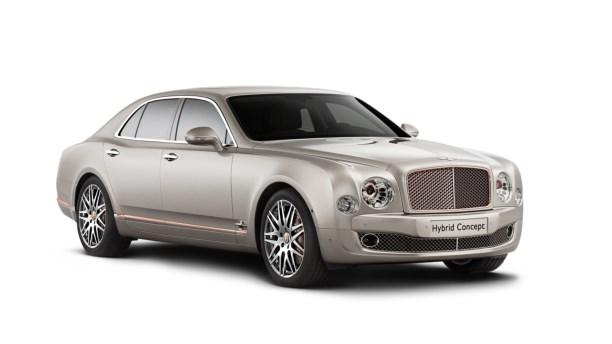 Nyt hybrid koncept fra Bentley