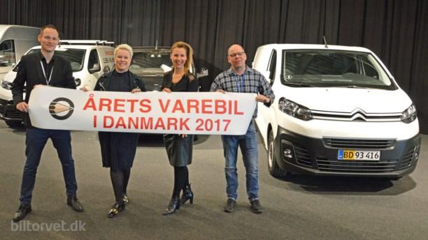 Årets Varebil i Danmark er - Peugeot Expert og...