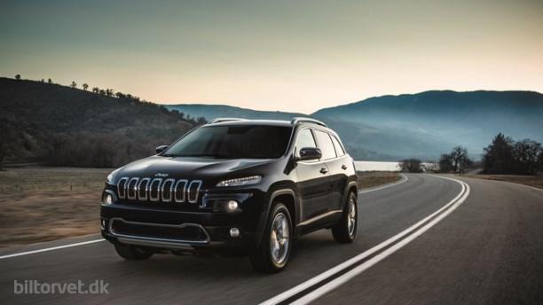 Ny dieselmotor i Jeep Cherokee