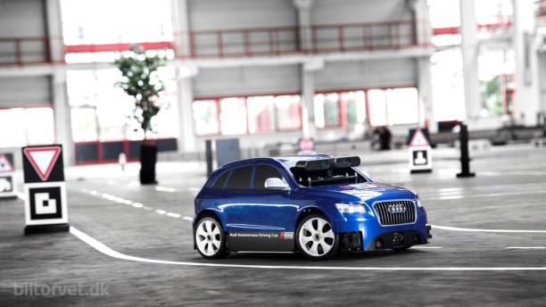 Audi udfordrer studerende