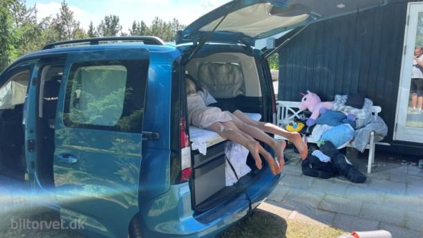 VW Caddy California – camper med store kompromisser