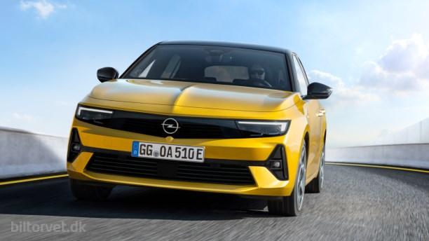 Fransk teknik og tysk design – her er den nye Opel Astra