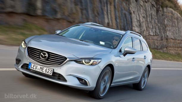 Ny opdateret Mazda6