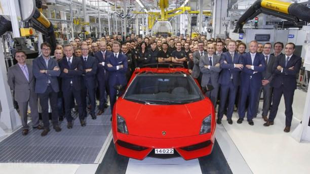 Farvel til Lamborghini Gallardo