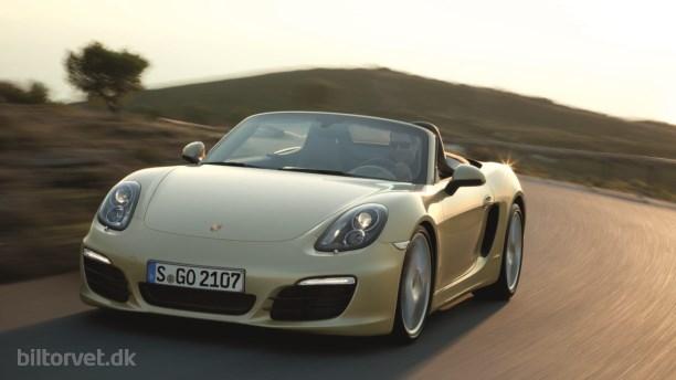 Den nye Porsche Boxster!