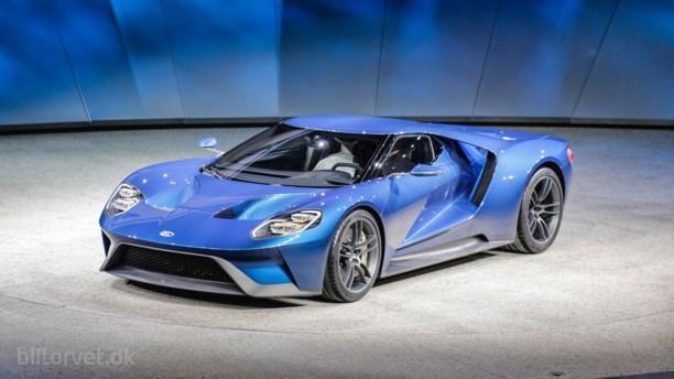 Så kan Ford GT bestilles!
