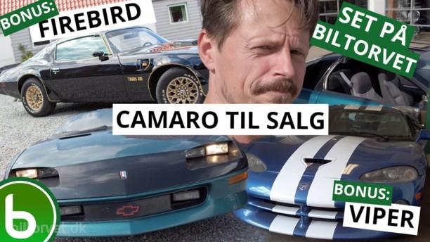 Derfor er 90'er Camaro'en den bedste + Firebird surprise + gemt Viper