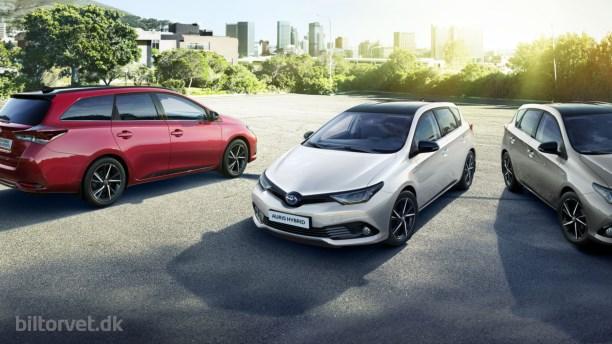 Toyota Auris med mere prestige