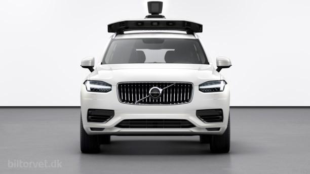 Volvo og Uber præsenterer produktionsklar selvkørende bil