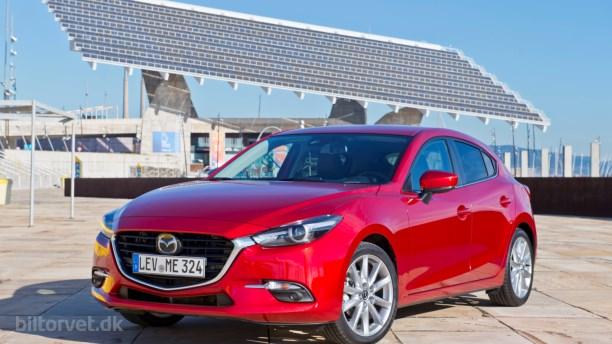 Nyt look og opgraderinger til Mazda3