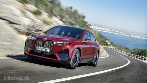 Over 600 kilometer rækkevidde – her er priserne på BMW's elektriske SUV iX