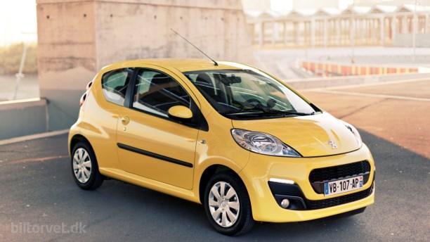 Peugeot 107 er parat til et nyt kapitel