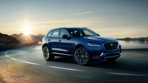Jaguar F-Pace. Verdens bedste og smukkeste bil?