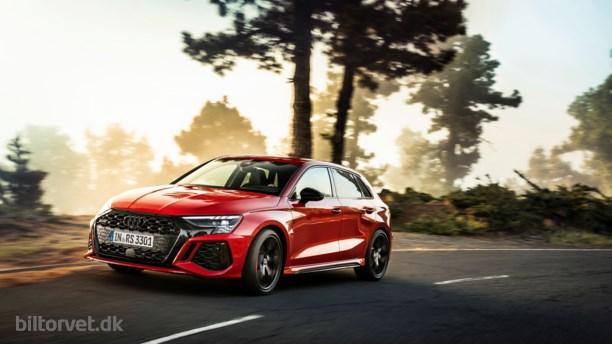 Her er den nye Audi RS3 – runder 100 på 3,8 sekunder!