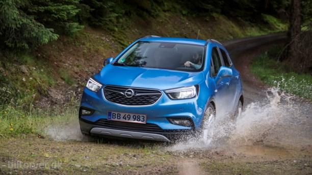 Opel Mokka X - vi tester topmodellen med turbomotor, firehjulstræk og automatgear