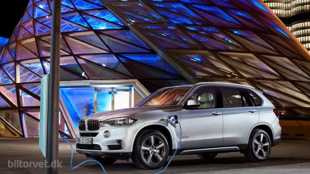 Ny BMW X5 Plug-in-Hybrid