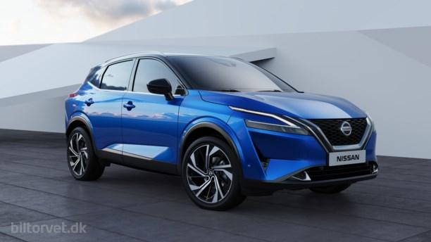 Storsælgeren er tilbage – her er den helt nye Nissan Qashqai