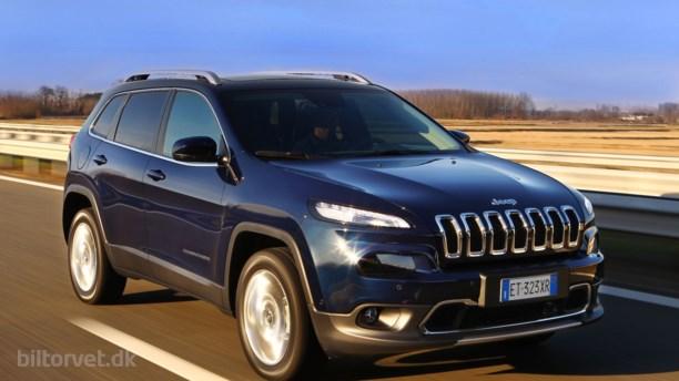 Jeep Cherokee indtager Danmark
