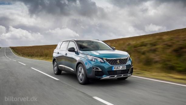 Peugeot 5008 er årets brugtbil i England