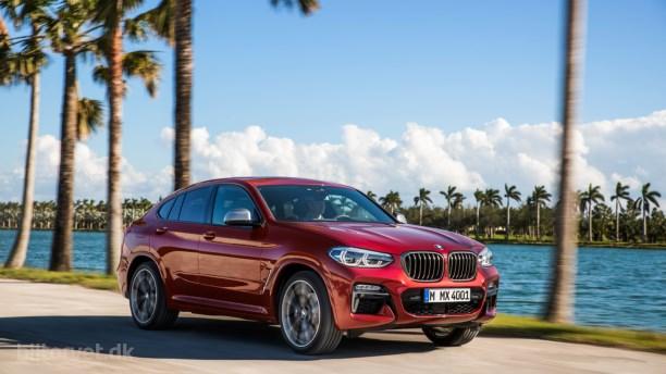 BMW X4 – mere plads i den smarte SUV