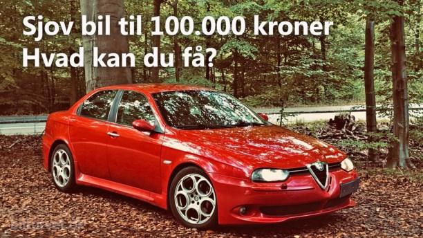 Sjov brugt bil til 100.000 kr. Her er vores favoritter