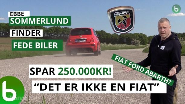 En Fiat til 500.000 kroner? Nu kan du få den til halv pris