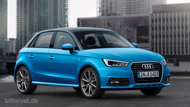 Opdatering af Audi A1