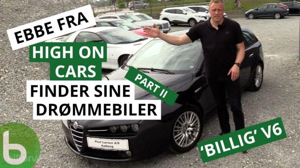 Billig drømmebil? Ebbe finder en italiener med V6 til under 100.000 kr.