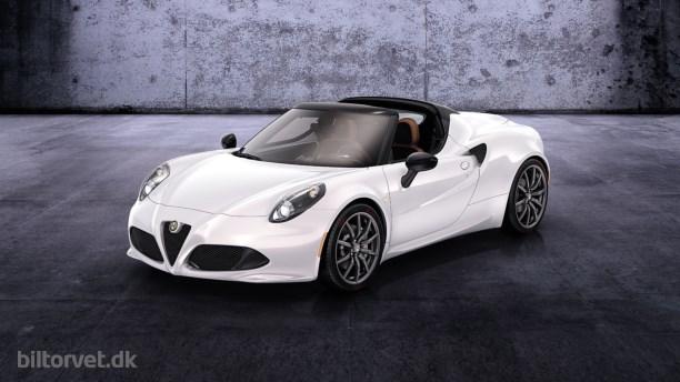 Alfa Romeo 4C Spider!