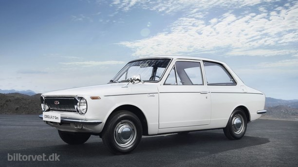 Toyota Corolla fylder 50 år
